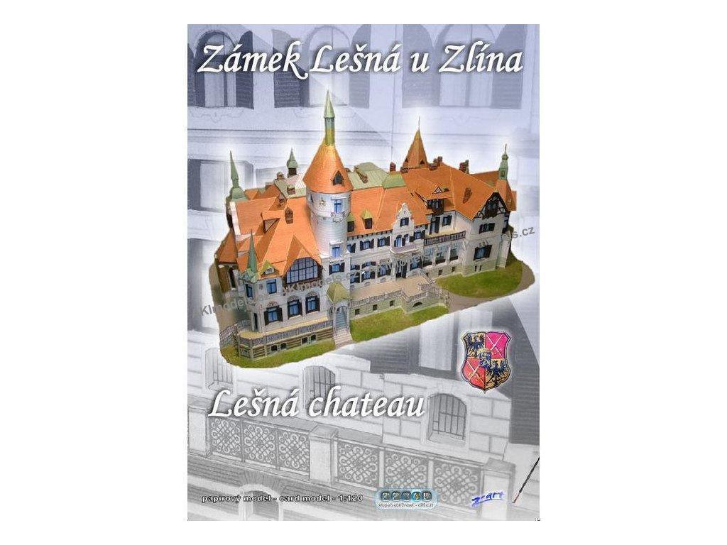 Lešná u Zlína - zámek