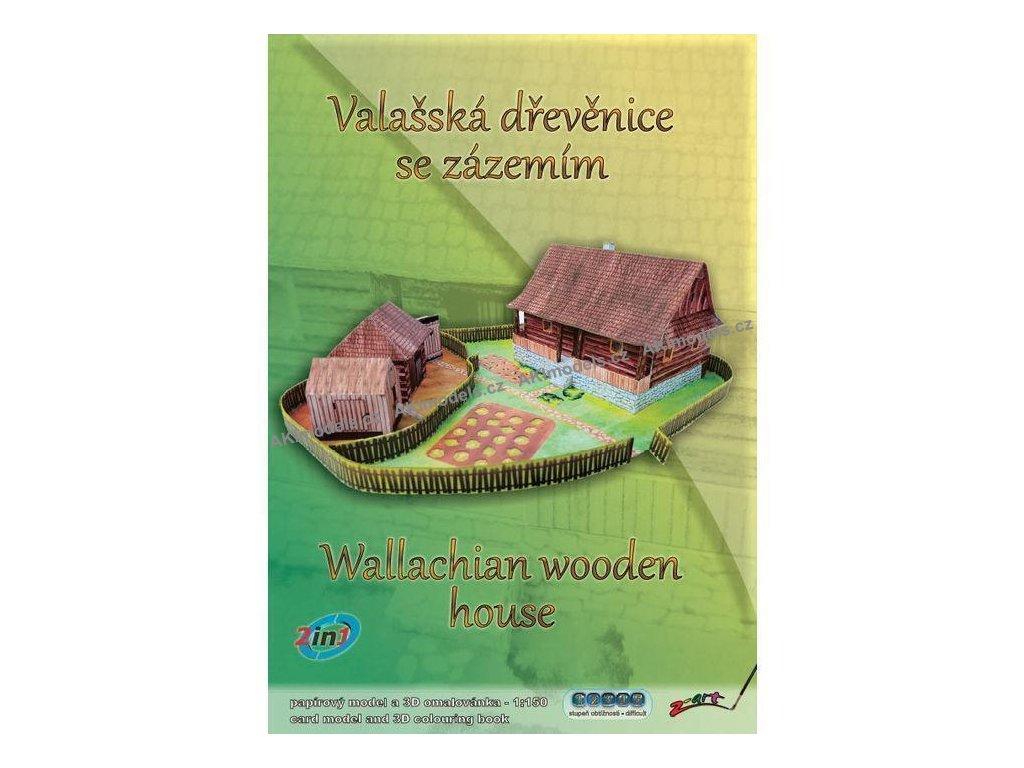 Valašská dřevěnice se zázemím