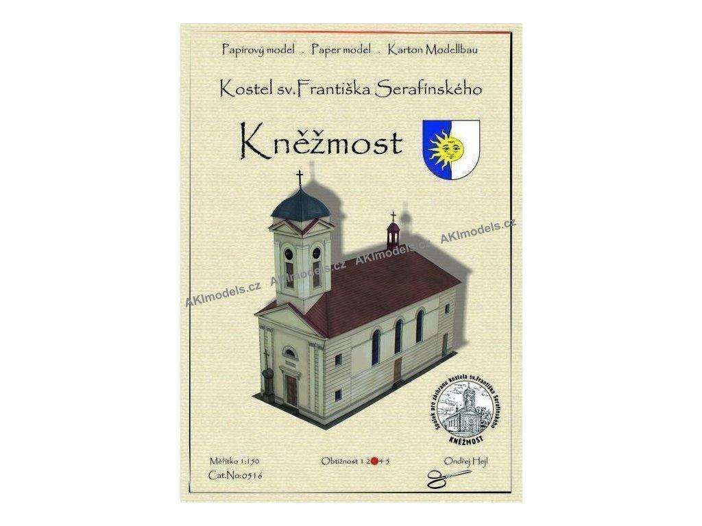 Kněžmost - kostel sv. Františka Serafínského