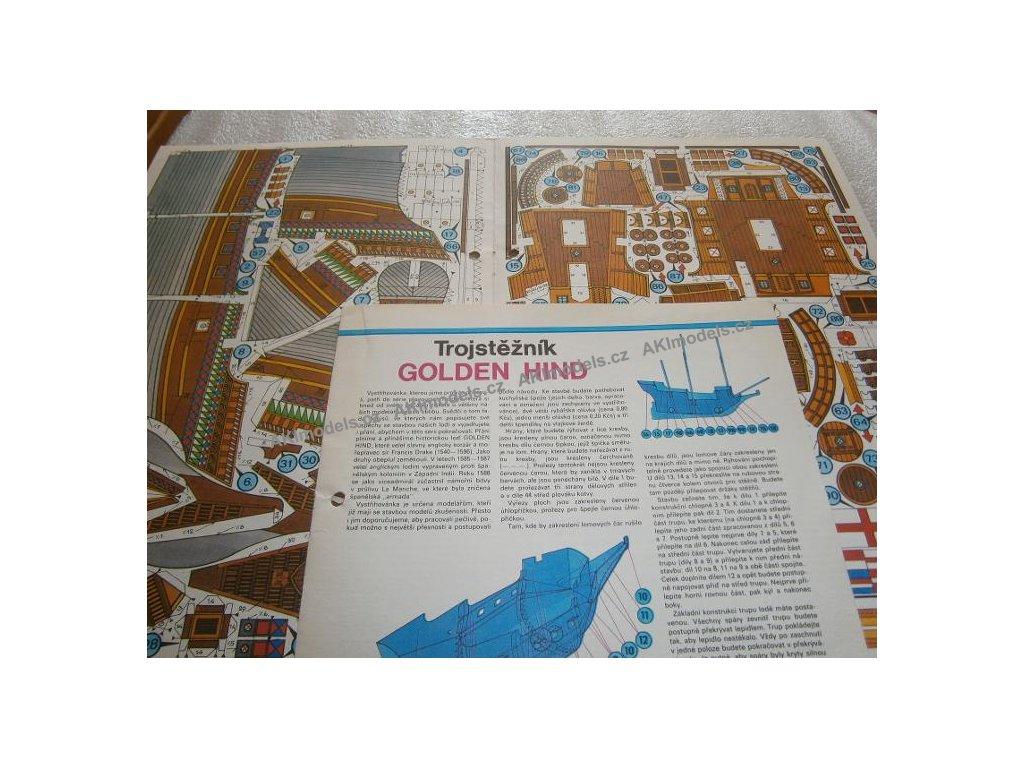 trojsteznik golden hind 57527289