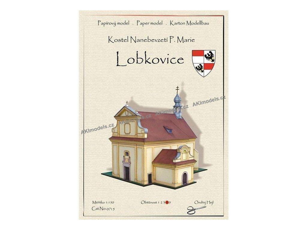 Kostel Nanebevzetí Panny Marie - Lobkovice