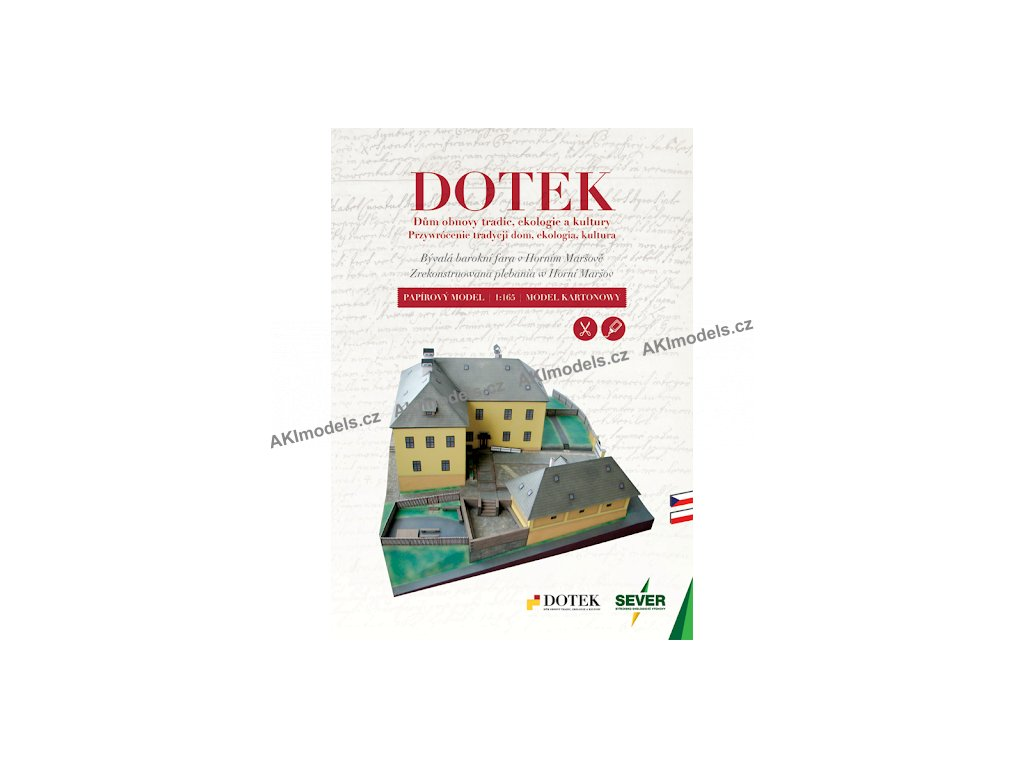 Horní Maršov - Dům obnovy tradic, ekologie a kultury DOTEK / bývalá barokní fara