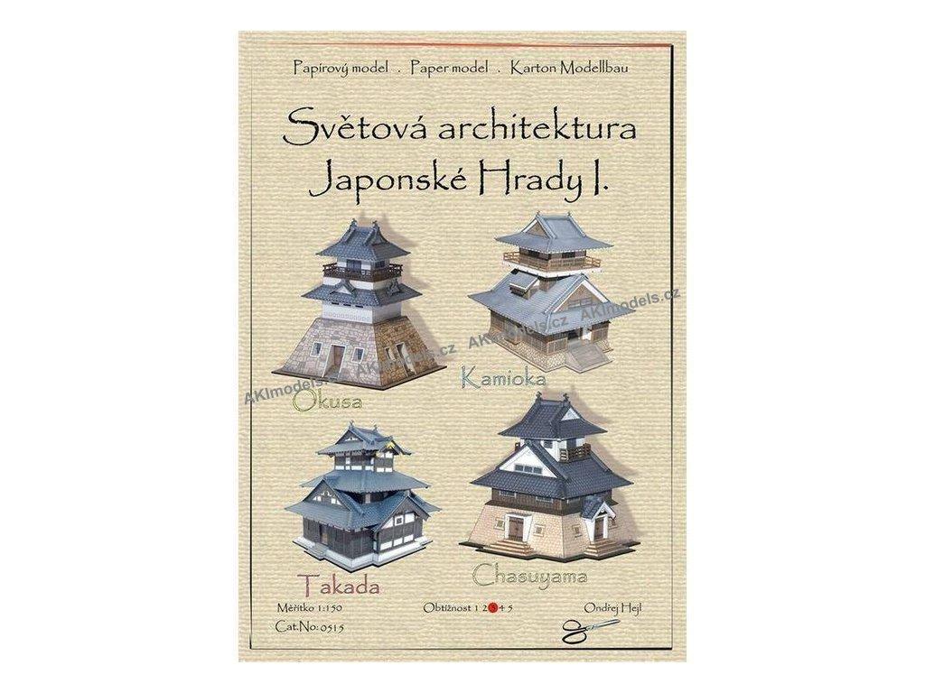 Japonské hrady I