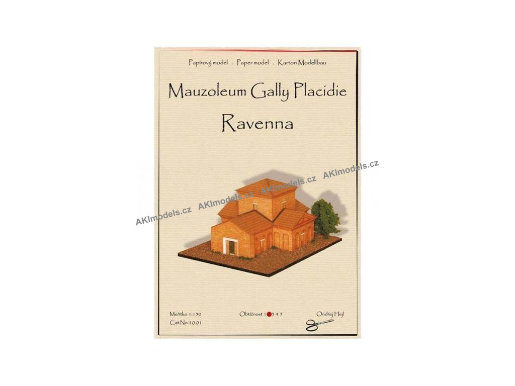 Ravenna - mauzoleum Gally Placidie