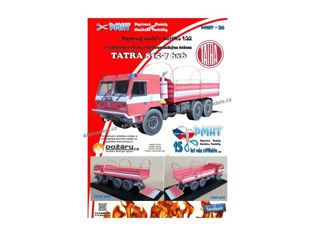 Tatra 815 7 6x6 evakuační