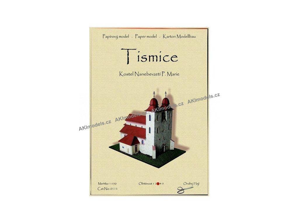 Tismice - kostel Nanebevzetí Panny Marie