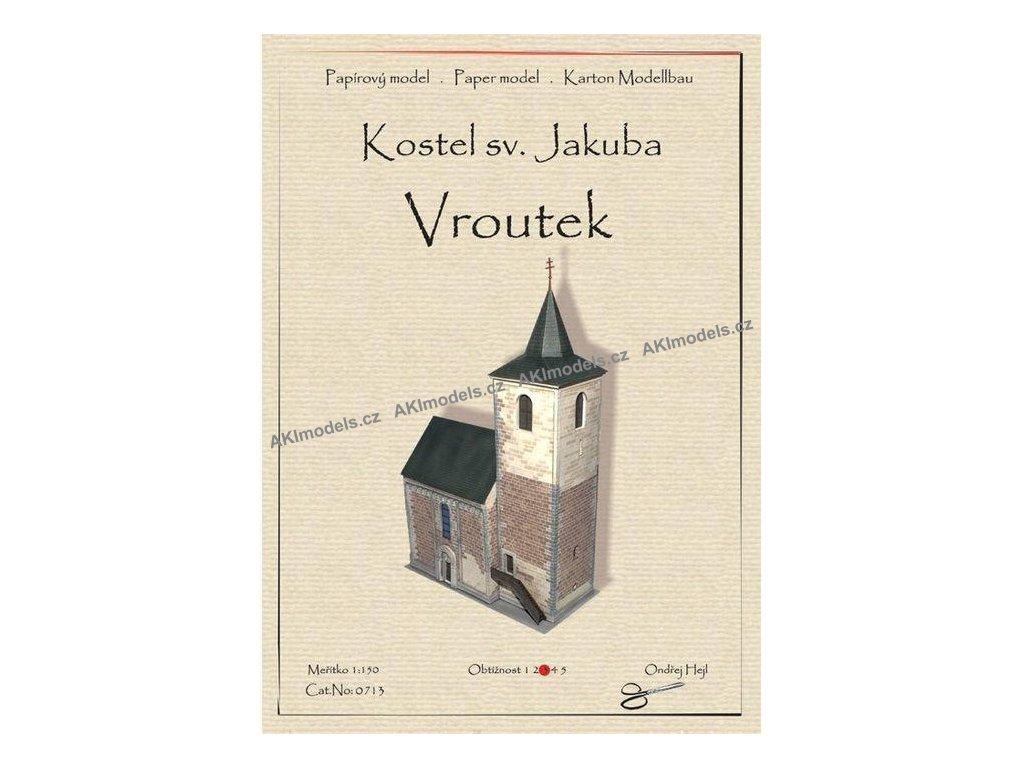 Vroutek - kostel sv. Jakuba