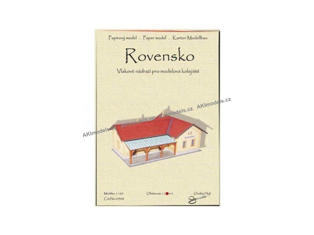 Rovensko - vlakové nádraží (1:120)