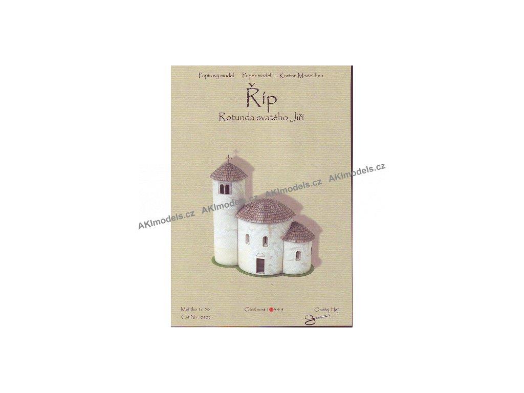 Říp - rotunda sv. Jiří