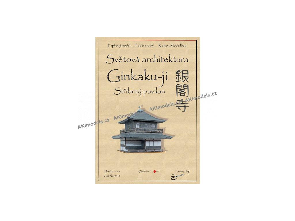Ginkaku-ji - Stříbrný pavilon