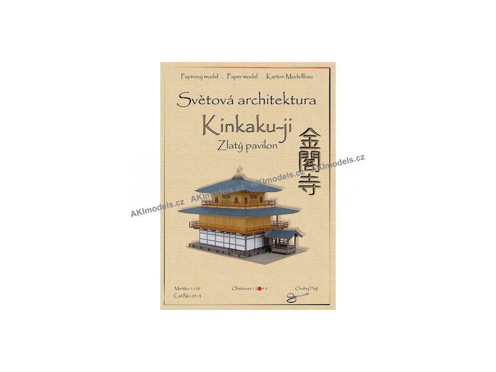 Zlatý pavilon Kinkaku-ji