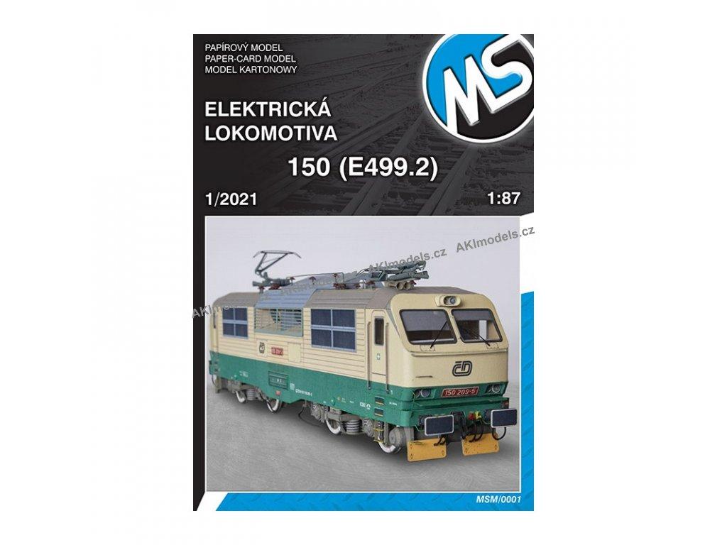 Elektrická lokomotiva 150 (E499.2)