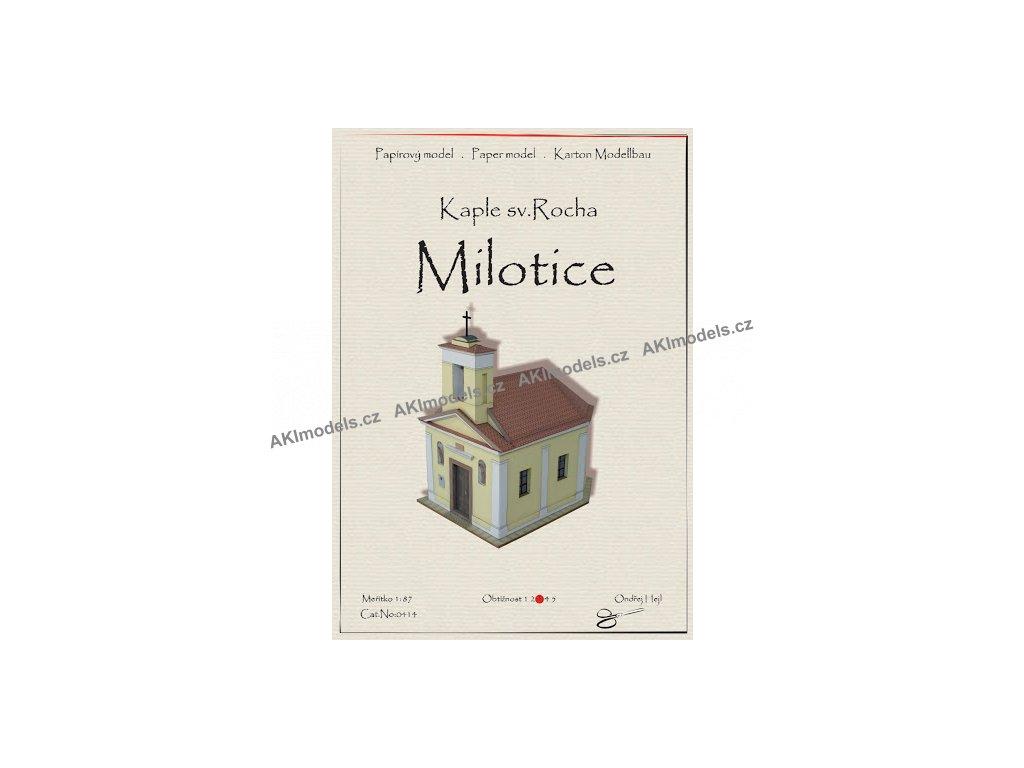 Milotice - kaple sv. Rocha