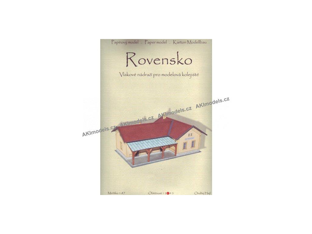 Rovensko - vlakové nádraží (1:87)