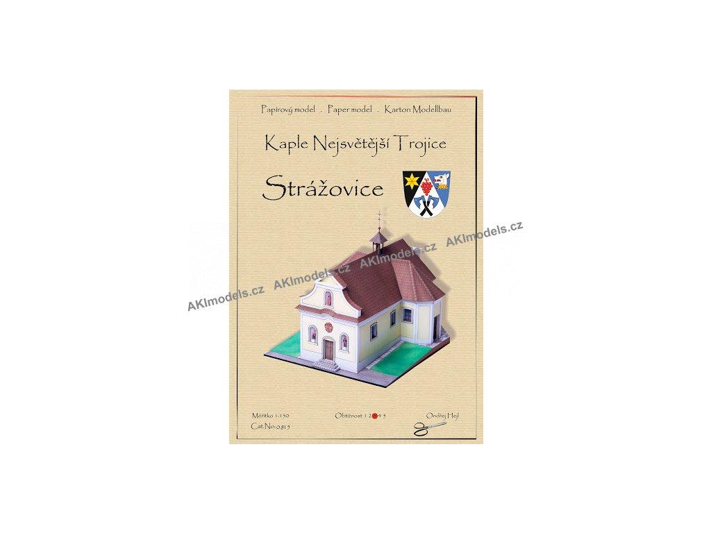 Strážovice - kaple Nejsvětější trojice