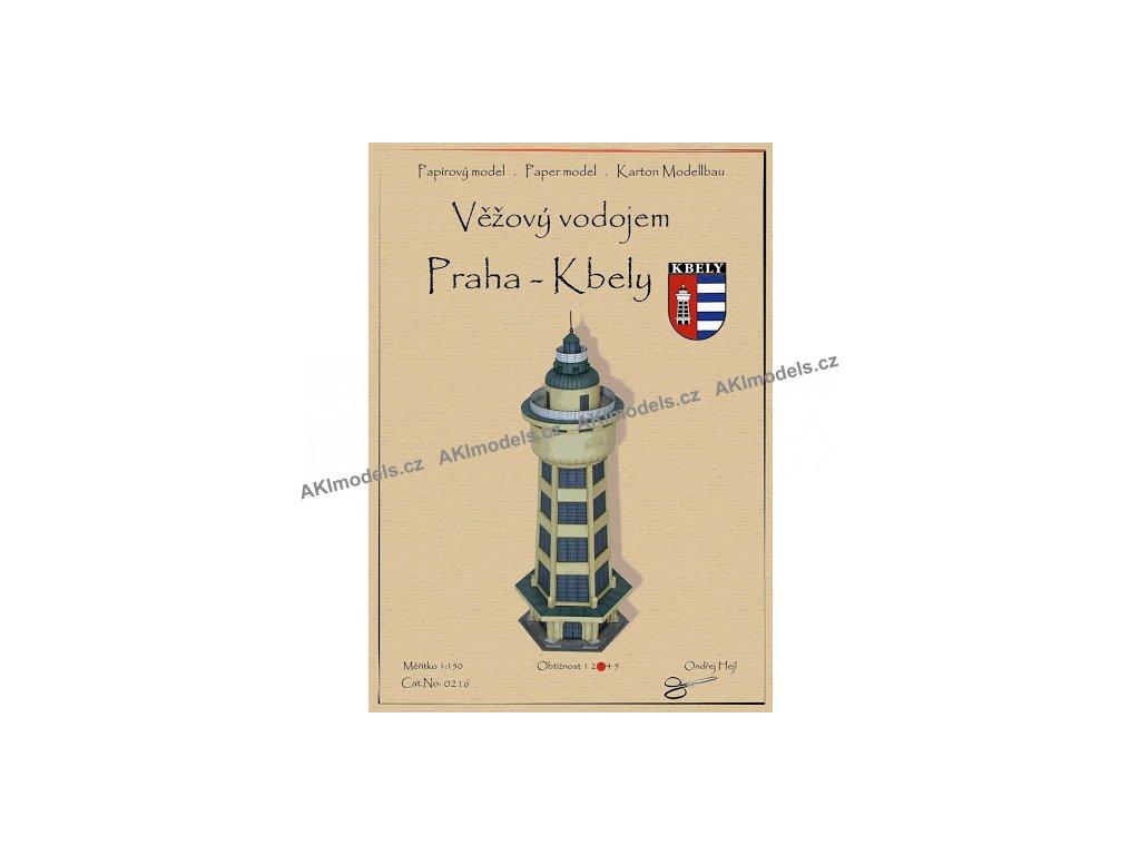 Věžový vodojem - Praha Kbely