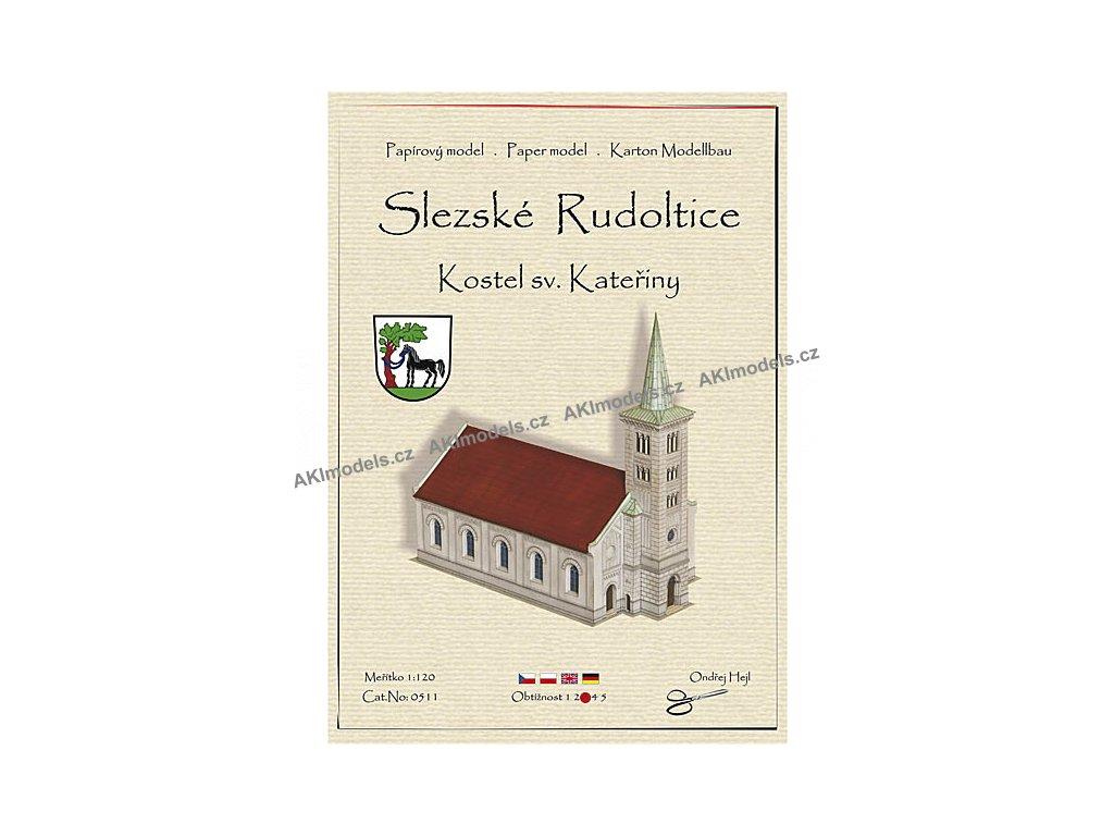 Kostel sv. Kateřiny - Slezské Rudoltice