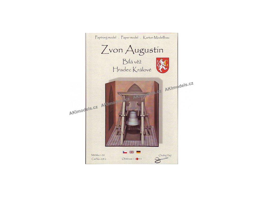 Zvon Augustin - Bílá věž, Hradec Králové