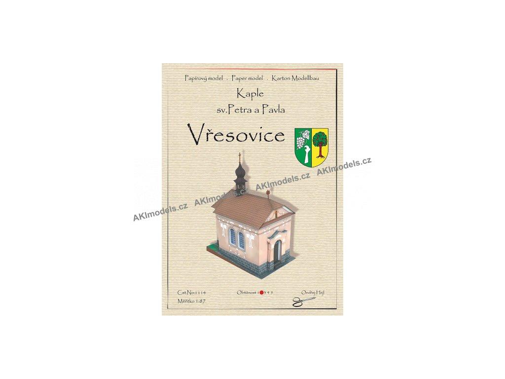 Kaple sv. Petra a Pavla - Vřesovice