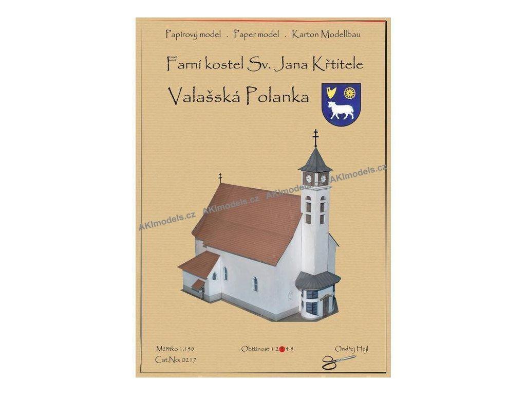 Valašská Polanka - Farní kostel sv. Jana Křtitele