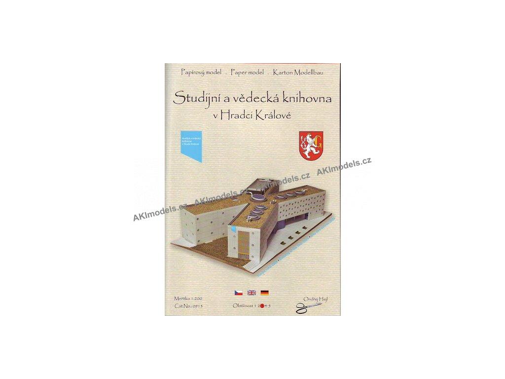 Hradec Králové - studijní a vědecká knihovna