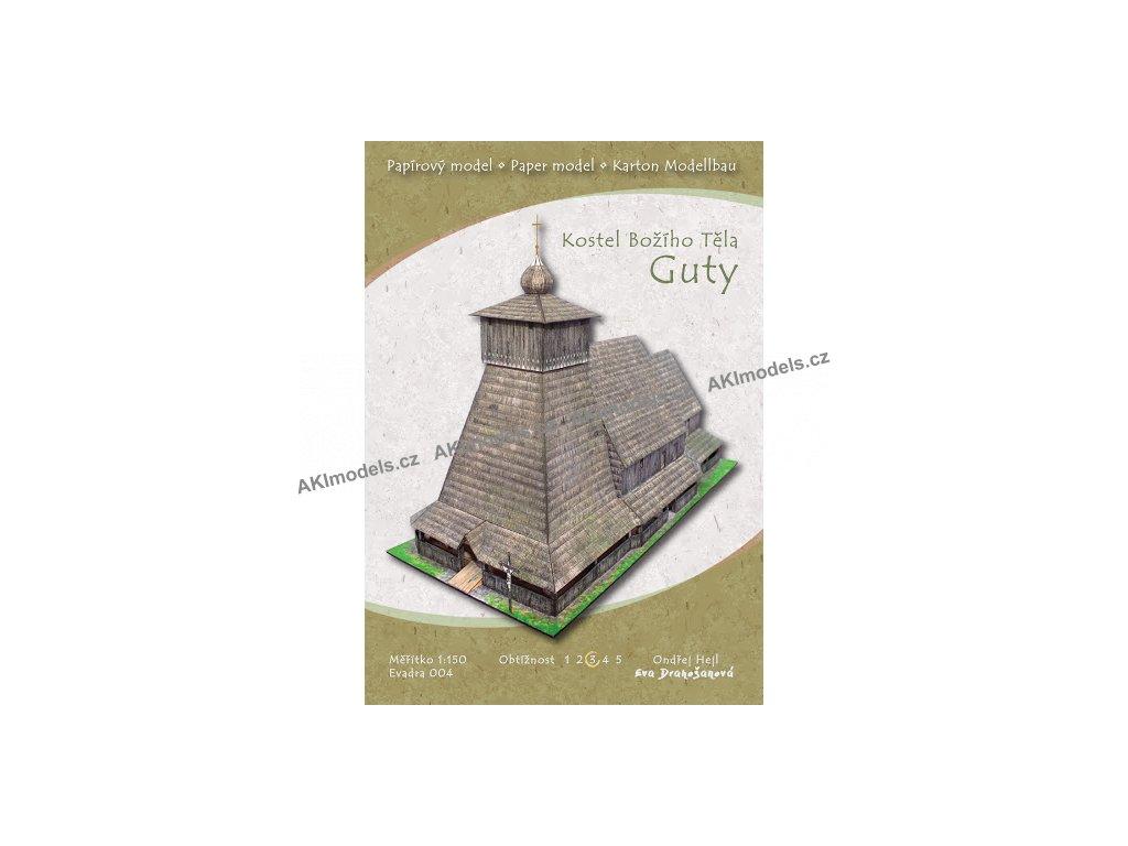 Guty - kostel Božího těla