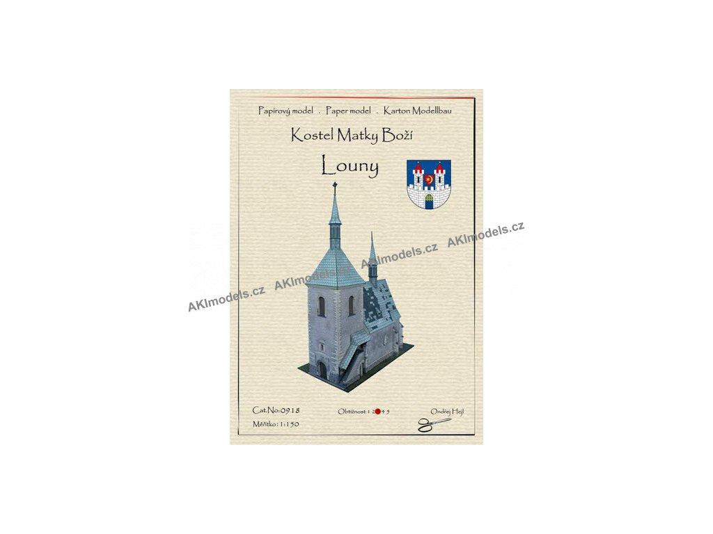 Kostel Matky Boží - Louny
