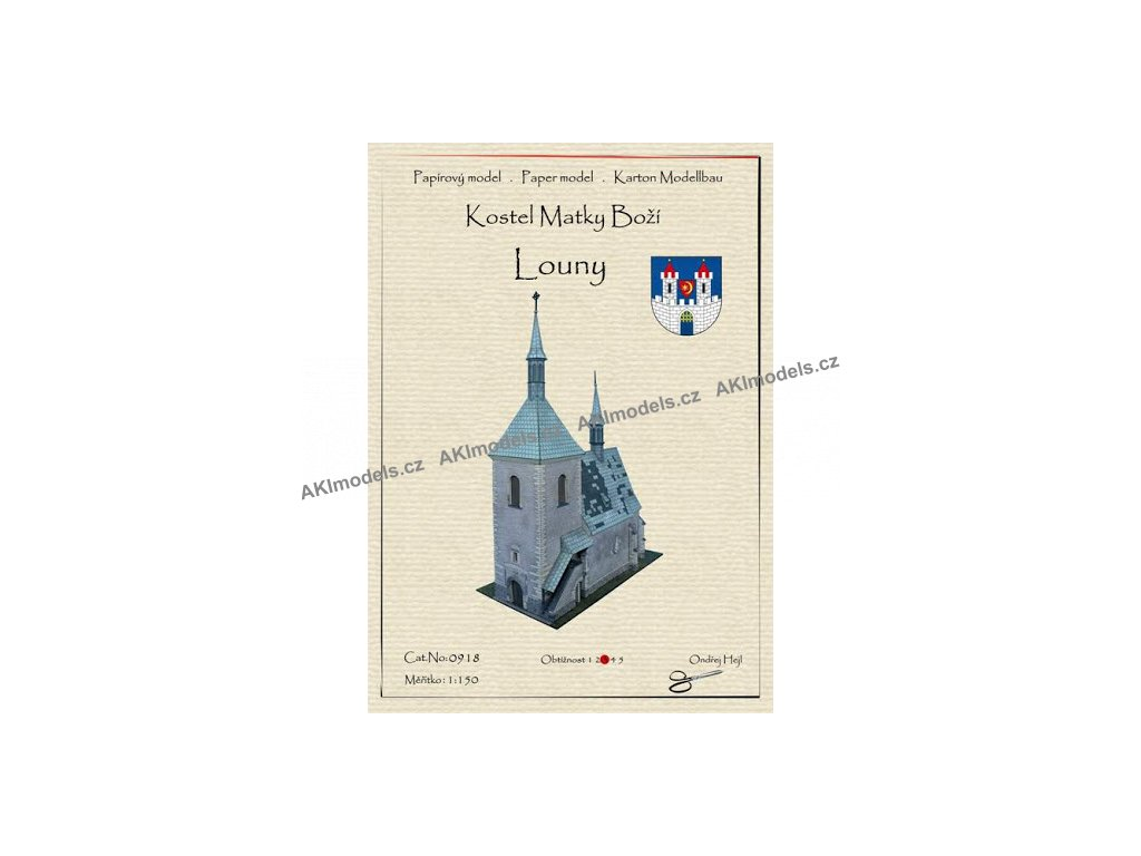 Louny - kostel Matky Boží