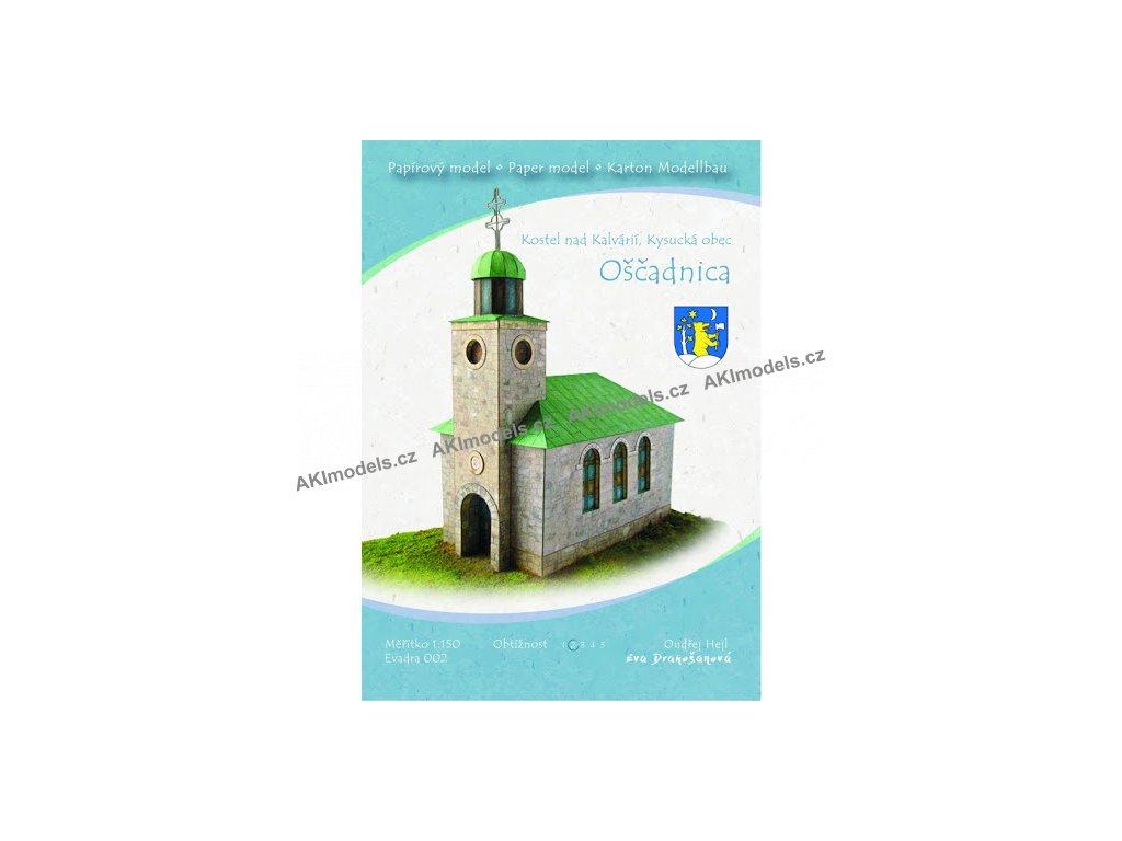 Oščadnica - kostel nad Kalvárií