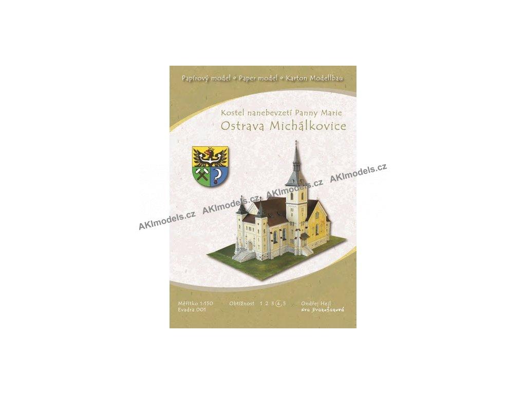 Ostrava Michálkovice - kostel Nanebevzetí Panny Marie