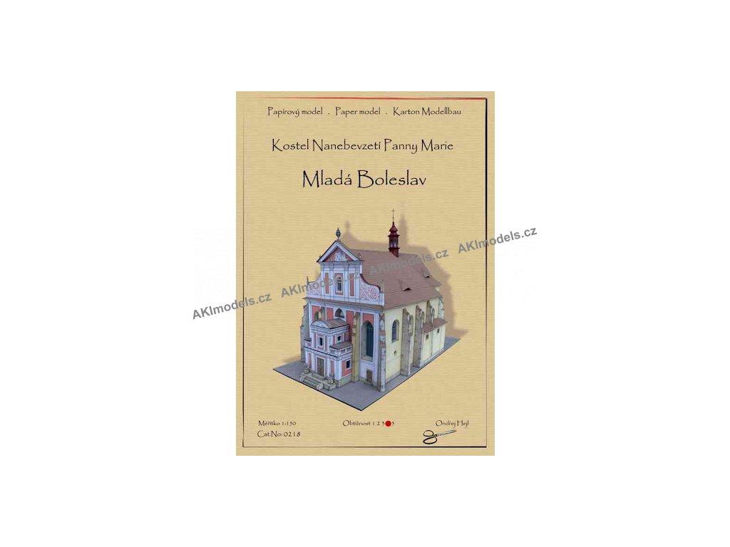 Mladá Boleslav - kostel Nanebevzetí Panny Marie