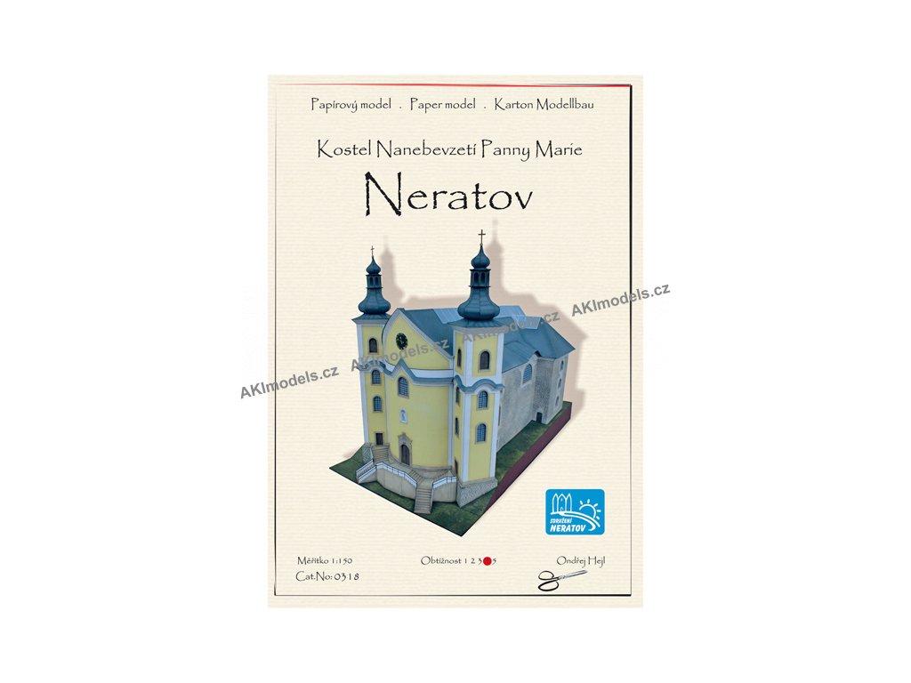 Neratov - kostel Nanebevzetí Panny Marie