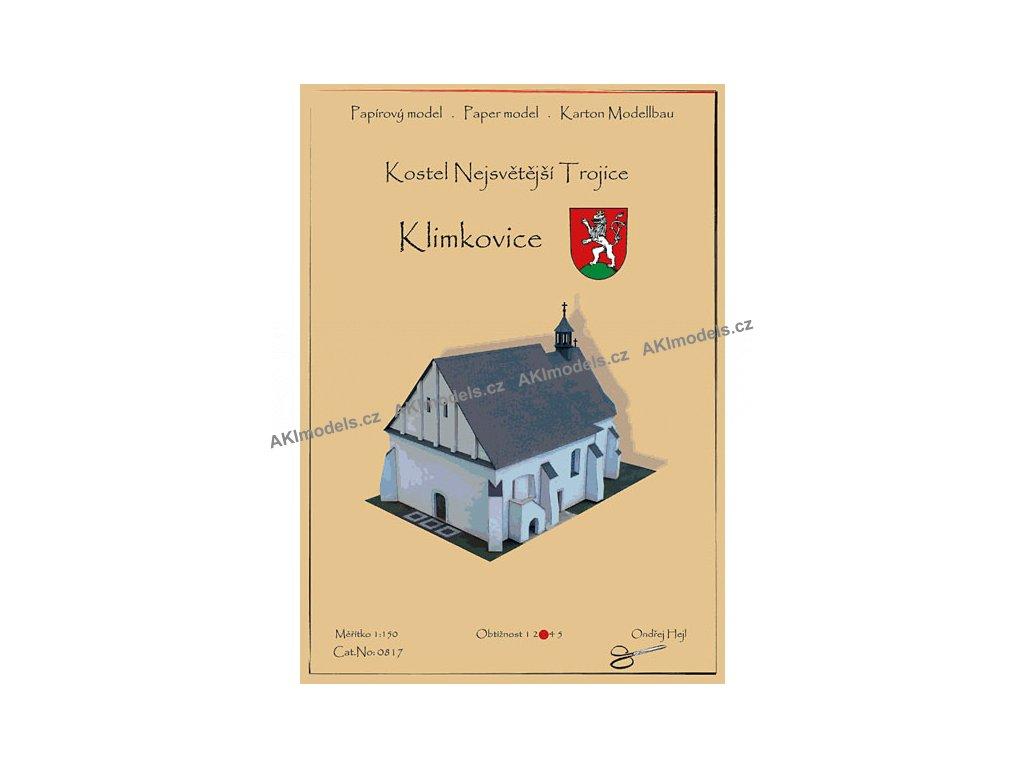 Klimkovice - kostel Nejsvětější Trojice