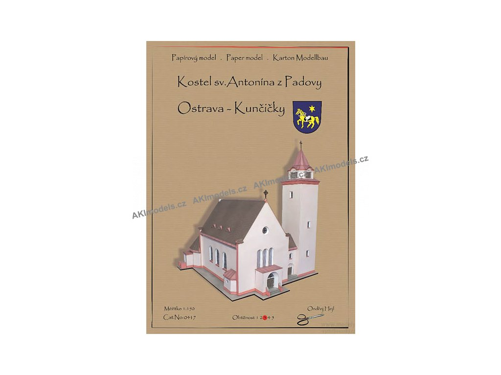 Ostrava Kunčičky - kostel sv. Antonína z Padovy