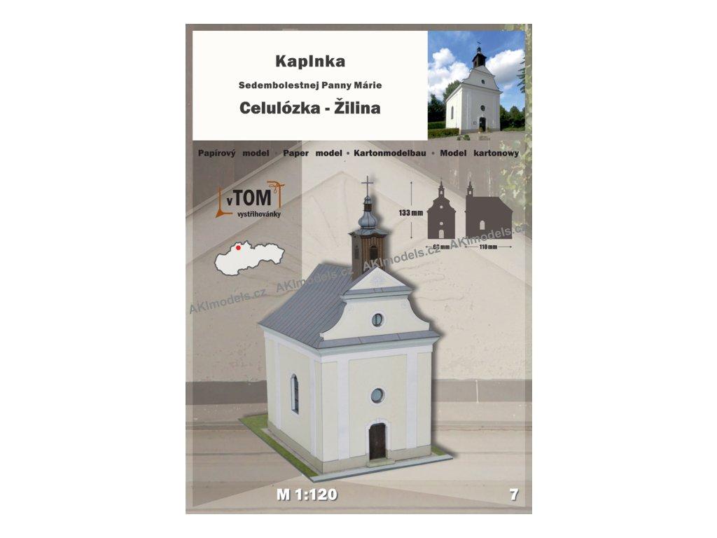 Žilina - kaplnka Sedembolestnej Panny Márie Celulózka