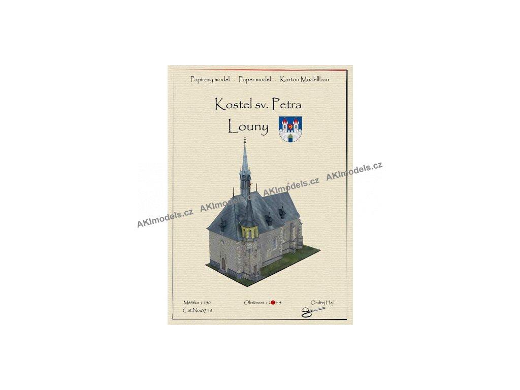 Louny - kostel sv. Petra