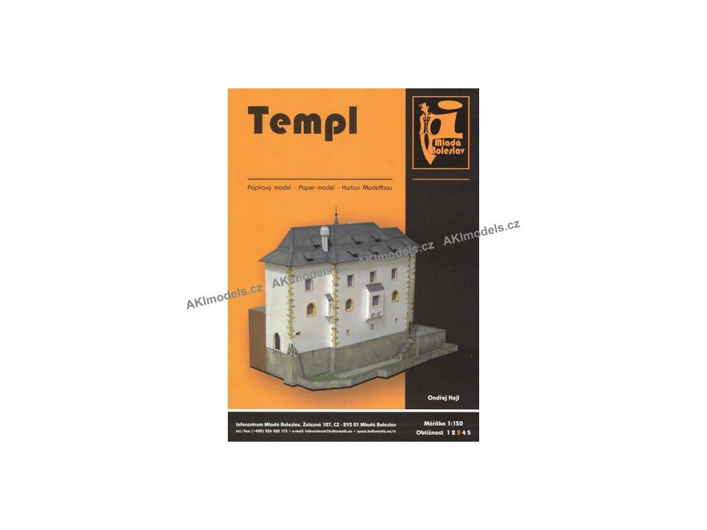 Mladá Boleslav - templ
