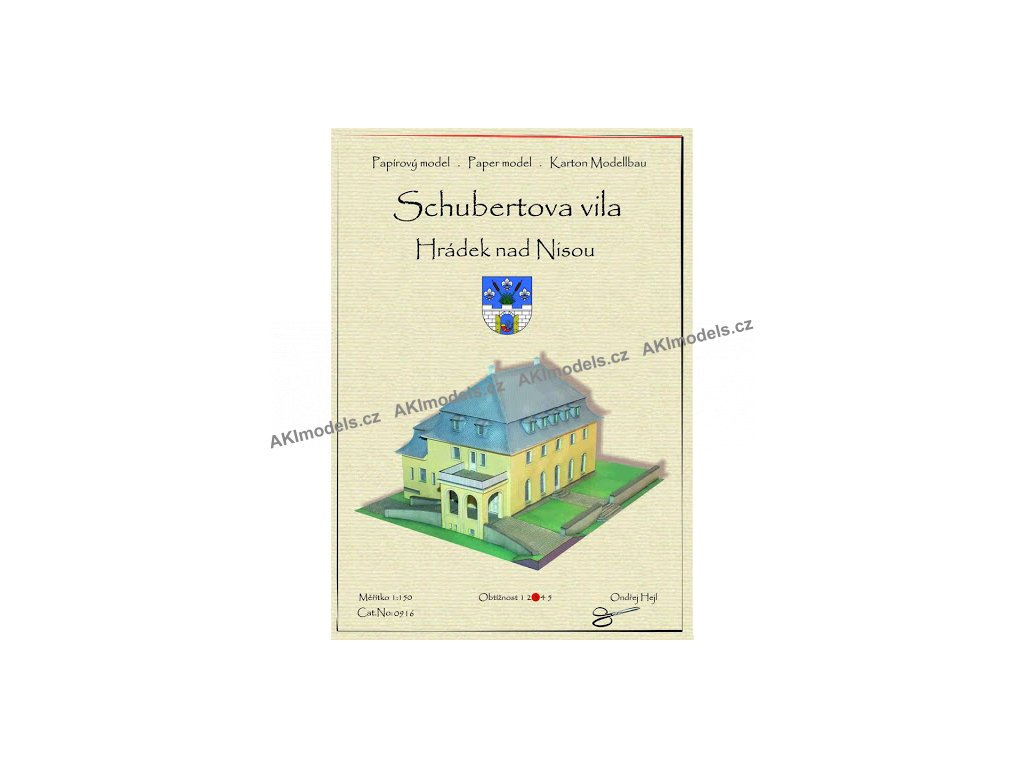 Schubertova vila - Hrádek nad Nisou