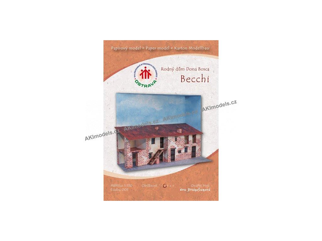 Becchi - rodný dům Dona Bosca