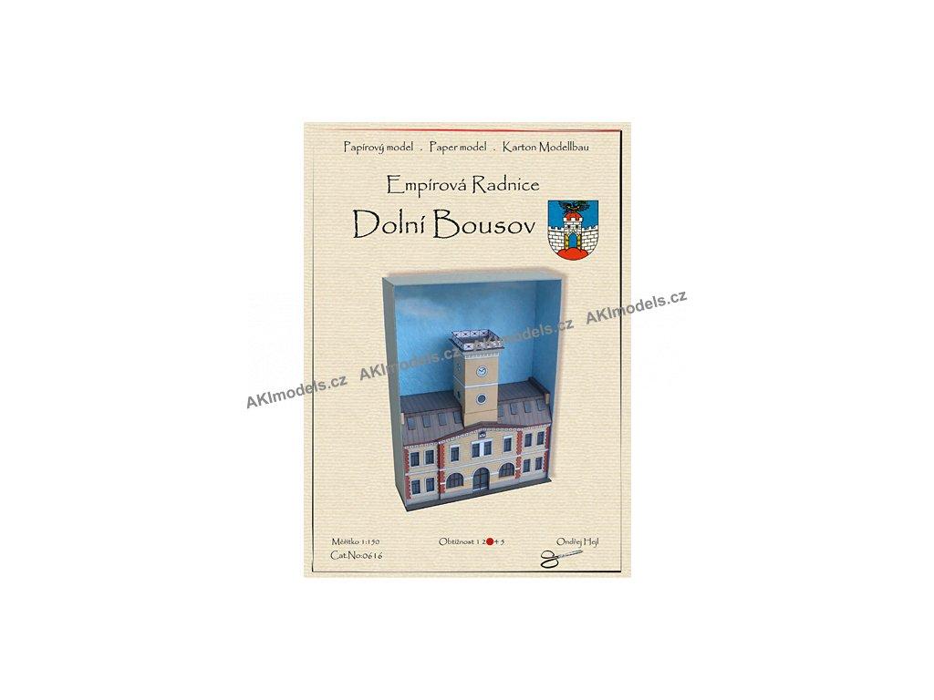 Dolní Bousov - Empírová radnice