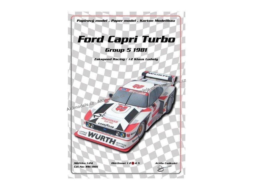 Ford Capri Turbo Group 5 1981