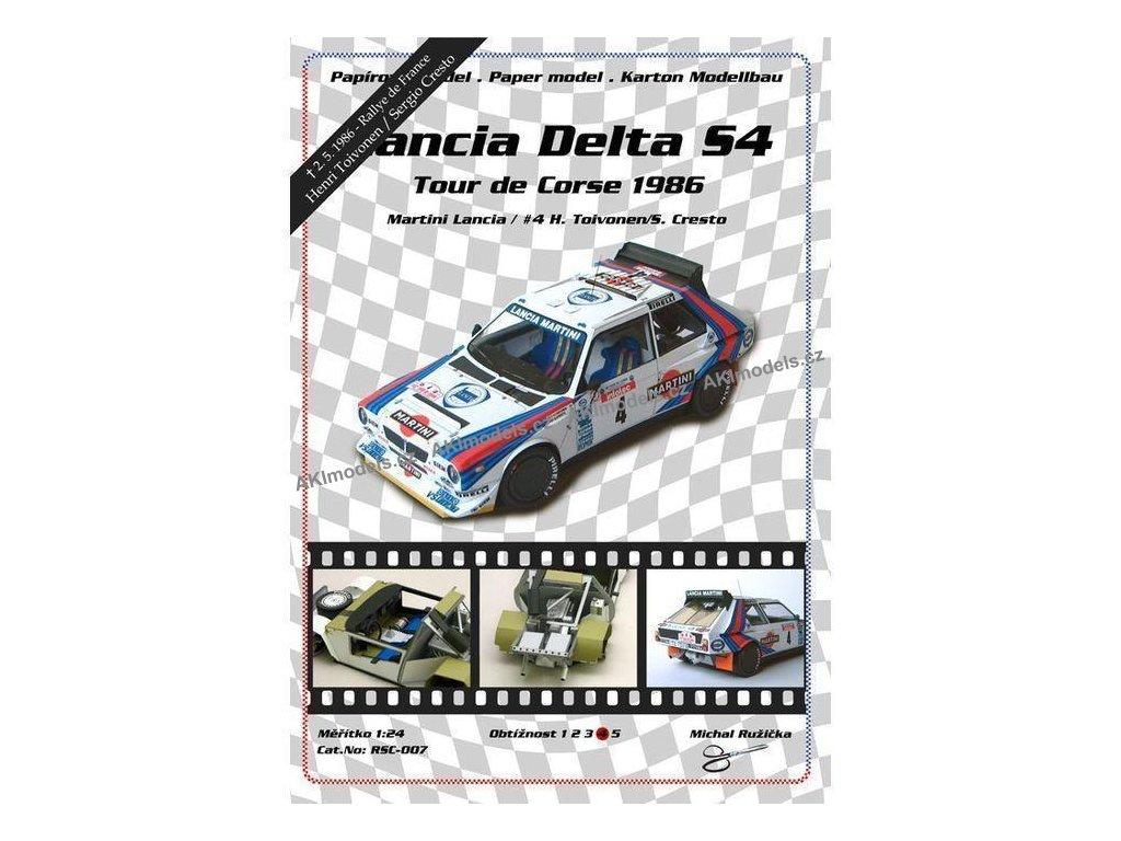 Lancia Delta S4 - Tour de Corse 1986
