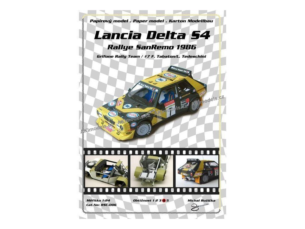 Lancia Delta S4 - San Remo 1986 (č.7)