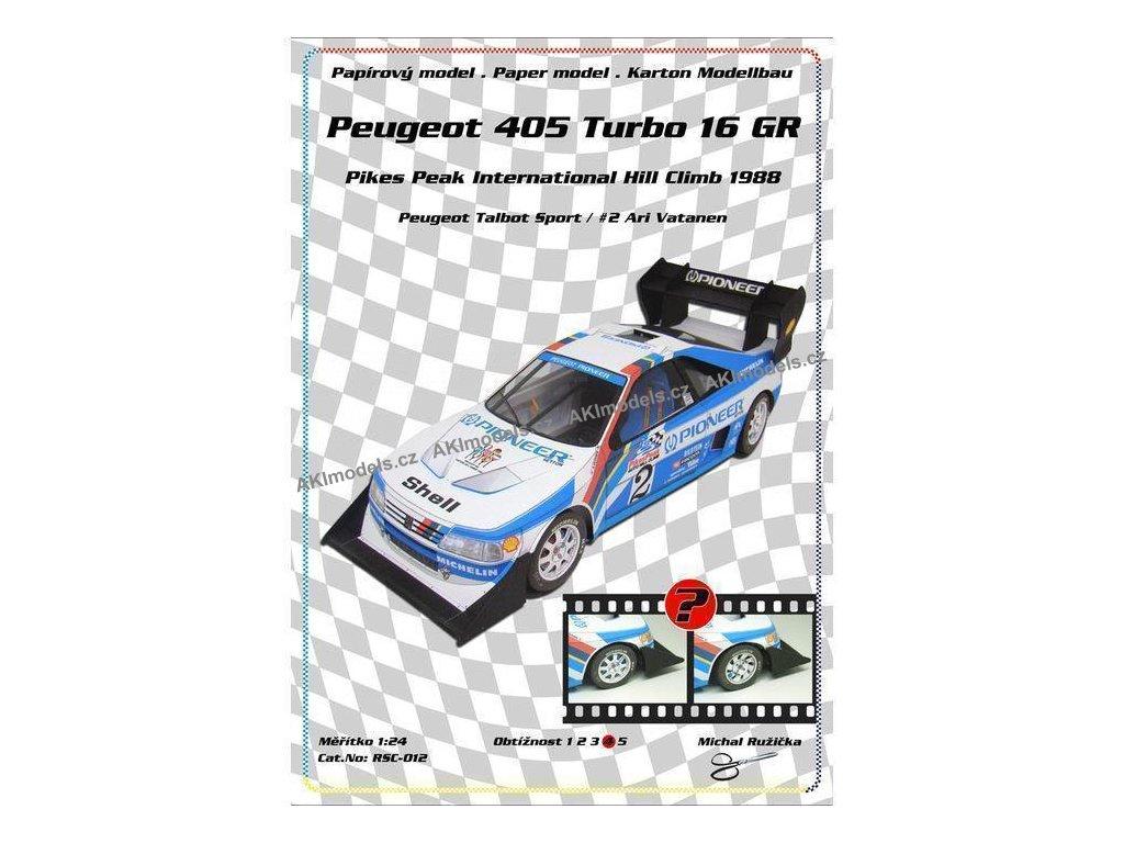 Peugeot 405 Turbo 16 GR