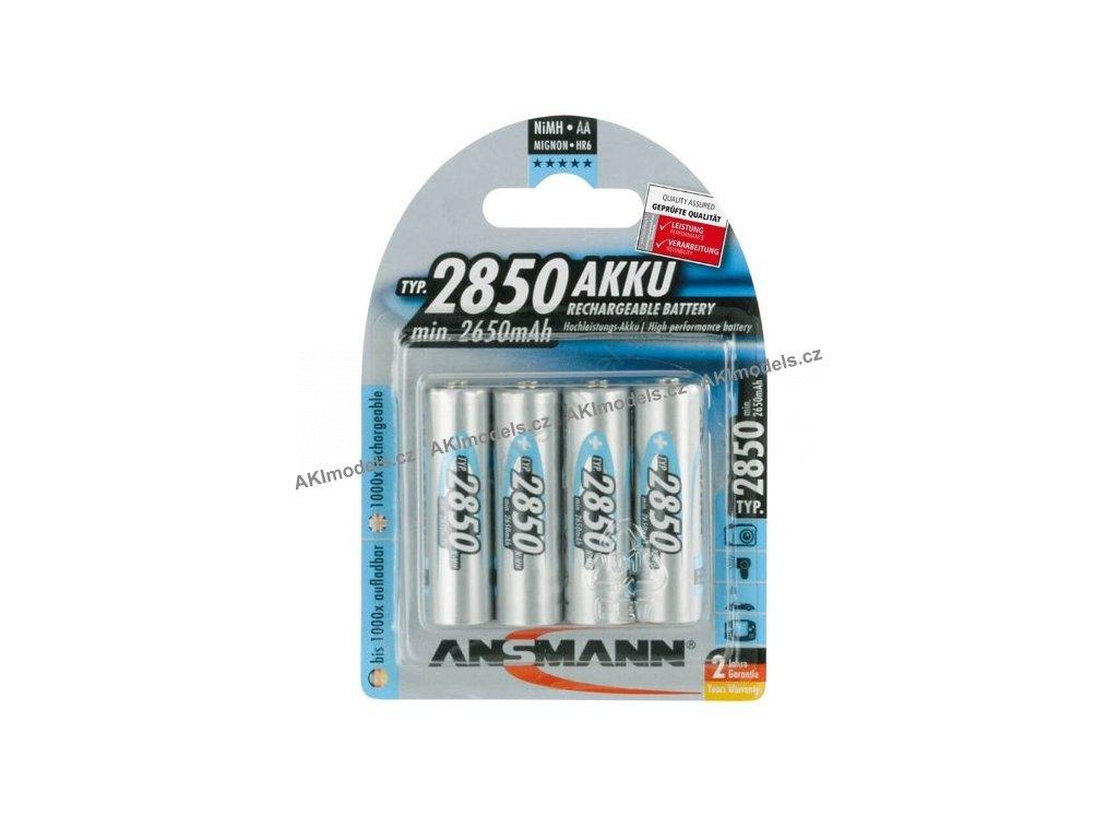 Ansmann R6 (AA) 2850 mAh / 4 kusy