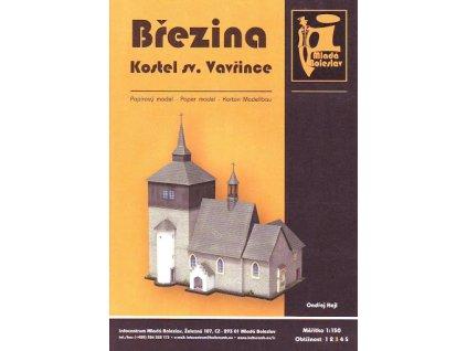 Březina - kostel sv. Vavřince