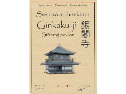 Stříbrný pavilon Ginkaku-ji