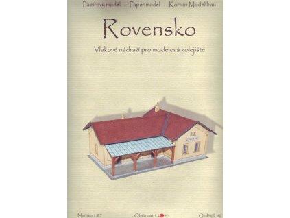 Vlakové nádraží - Rovensko (1:87)