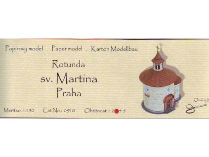 Praha - rotunda sv. Martina