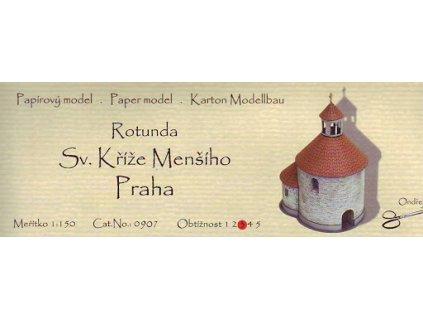 Praha - rotunda sv. Kříže menšího